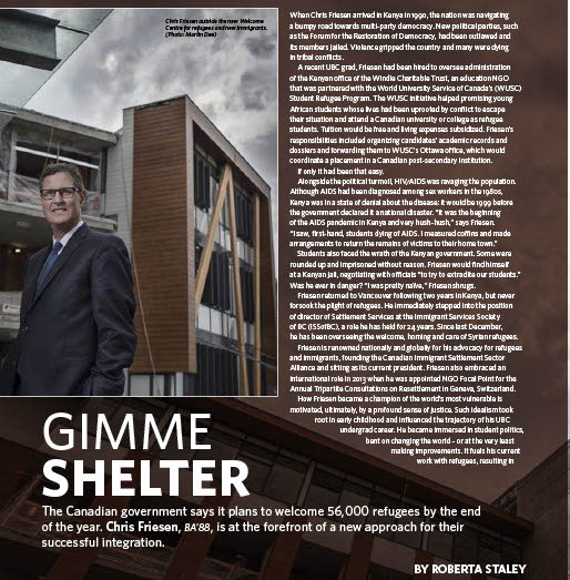 Gimme Shelter by Roberta Staley