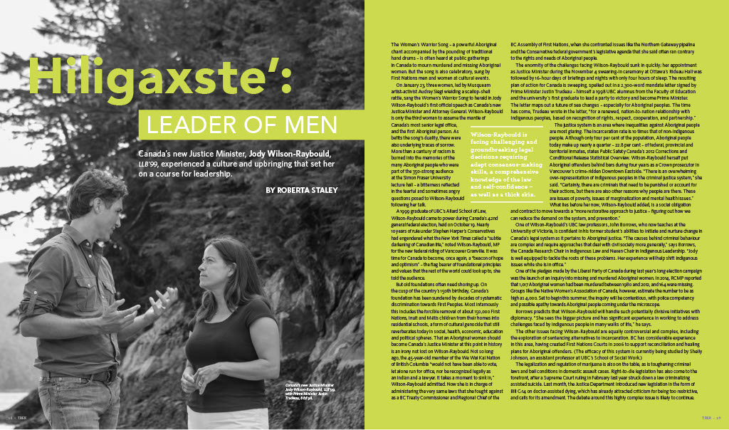 Hiligaxste': Leader of Men by Roberta Staley