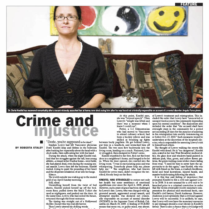 crime and injustice by Roberta Staley