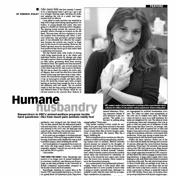 humane-husbandry by Roberta Staley