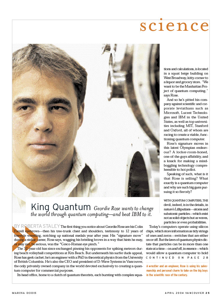 king-quantum by Roberta Staley